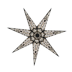Weihnachtsstern Black Star (60cm)