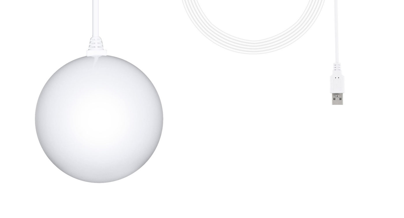 Weihnachtsstern Beleuchtung STARBALL COLOR mit Kabel