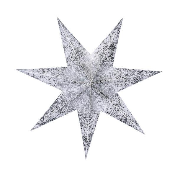 Weihnachtsstern Silver Star (45cm)