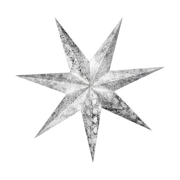 Weihnachtsstern Silver Star (60cm)