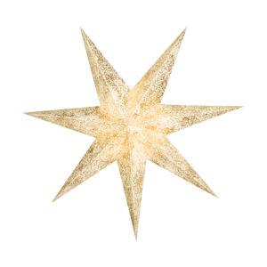 Weihnachtsstern Gold Star (60cm)