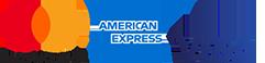 Kreditkarte - Mastercard - Visa - Amercian Express