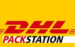 Wir liefern auch an die DHL Packstation.